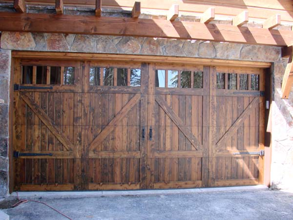 Faux wood garage doors faux wood garage doors phoenix az for Faux wood doors